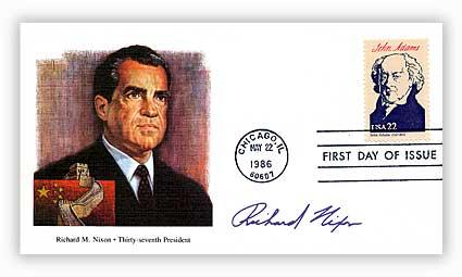 1986 22¢ President-R.Nixon