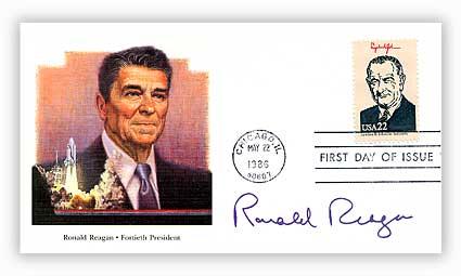 1986 22c Presidents-Ronald Reagan