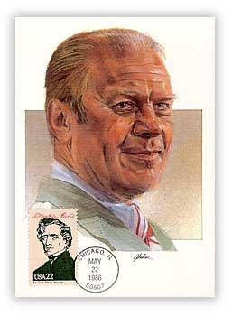 1986 Presidents-Gerald Ford Maxicard