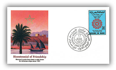 1987 Morocco stamp First Day Cover