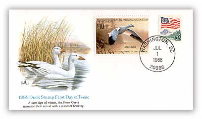 1988 Federal Duck First Day Cover