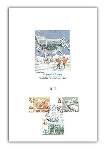 1984 Alpine/Skate/Hockey Proofcard