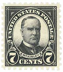 U.S. #588 is the least common of the 10-perf Series of 1923-26 stamps.