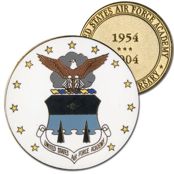 2004 USAFA 50th Ann. Cloisonne Medallion