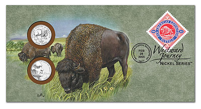 2005 Lewis & Clark Bison Nickel PNC