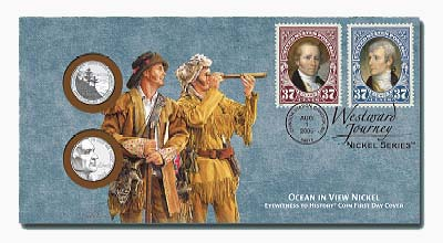 2005 Lewis & Clark Ocean View Card/Cover
