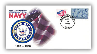 1998 Navy Medallion Cover