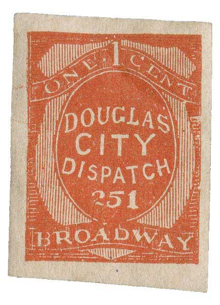 1879 1c vermilion