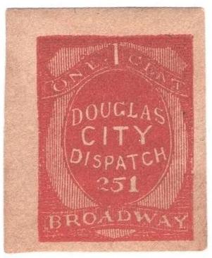 1879 1c vermilion. imperf