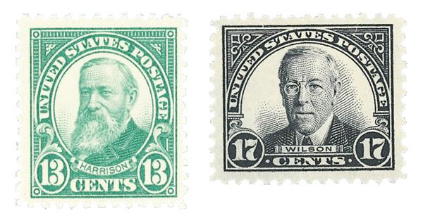 1925-26 Regular Issues, Set of 2 Stamps