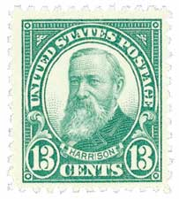 1926 13c Harrison Green For Sale At Mystic Stamp Company