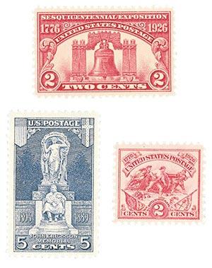 1926 Sesquicentennial Expo. 3v