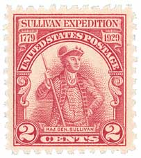 1929 2c Sullivans Expedition