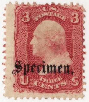 1861-66 3c rose