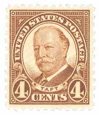 1930 4c Taft, brown