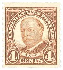1930 4c Taft, brown, coil