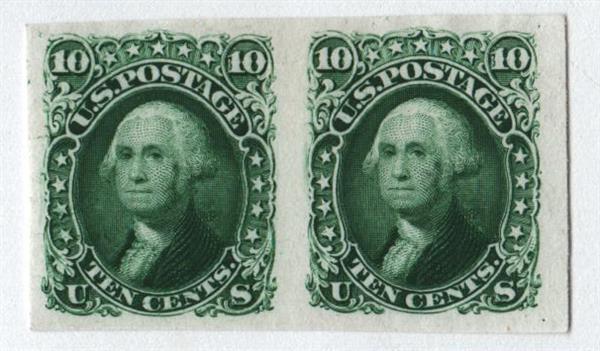 1861 10c green