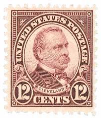 1931 12c Cleveland, brown violet