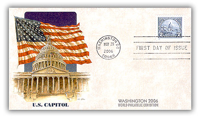 $2 U.S. Capitol Reissue of 2006 FDC
