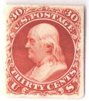 1861 30c Essay