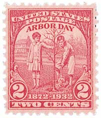 1932 2c Arbor Day Issue