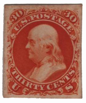1861 30c orange