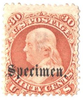1861-66 30c orange