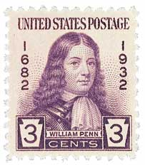1932 3c William Penn
