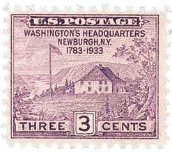1933 3c Peace of 1783 Sesquicentennial