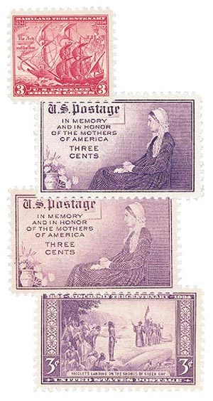 1934 Commemoratives, 4v