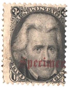 1861-66 2c black