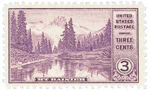 1934 3c Mt. Rainier, Washington