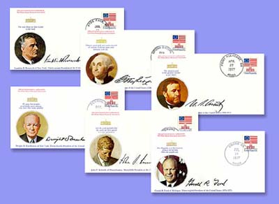1996 President Commemorative Cover Set