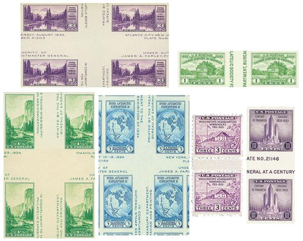 1935 Farley Collection, 6v Mint