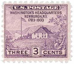 1935 3c Peace of 1783 Sesquicentennial, no gum