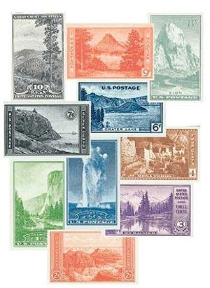 1935 Commems 756-65, 10v
