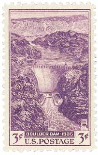 1935 3c Dedication of Boulder Dam