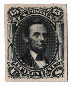1861-67 15c black