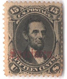 1861-66 15c black
