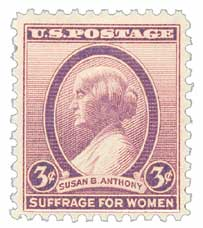 1936 3c Susan B. Anthony