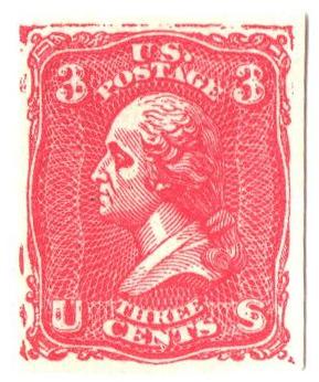1867 3c Plate Essay