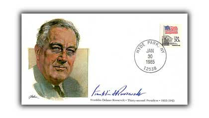 1985 PRS F. Roosevelt Commemorative Cover