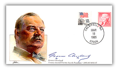 1985 PRS Grover Cleveland Commemorative Cover
