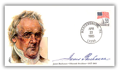 1985 PRS James Buchanan Commemorative Cover