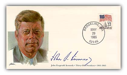 1985 PRS John Kennedy Commemorative Cover