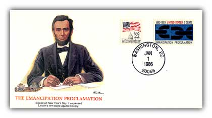 1985 Epic Events in American History - Emancipation Proc. Deluxe Cover