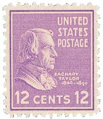 1938 12c Taylor, purple