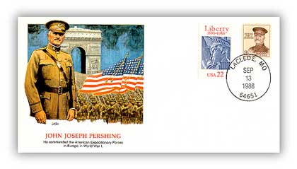 1986 John Pershing/Shapers of Am. Liberty