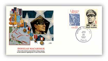 1987 Douglas Mac Arthur/Shapers of Am.Liberty