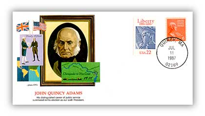 1987 John Quincy Adams/Shapers of Am. Liberty